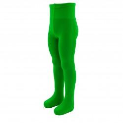 Žalios vienspalvės pėdkelnės vaikams Obuolys