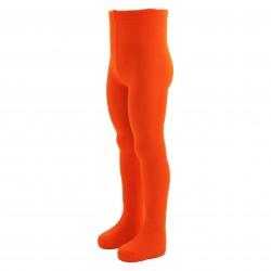 Organinės medvilnės vienspalvės pėdkelnės vaikams Oranžinė