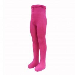 100% Vilnos rožinės pėdkelnės vaikams