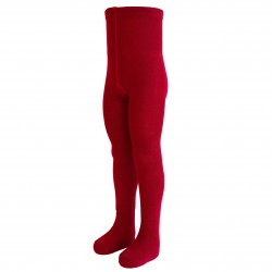 Šiltos 50% Merino vilnos  Raudonos pėdkelnės vaikams