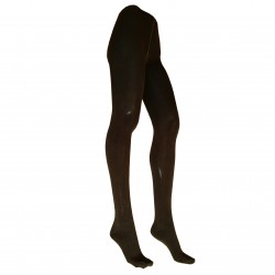 Šiltos Tamsiai rudos pėdkelnės su 50% vilna moterims