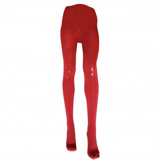 Šiltos 50% Merino vilnos  Raudonos pėdkelnės moterims