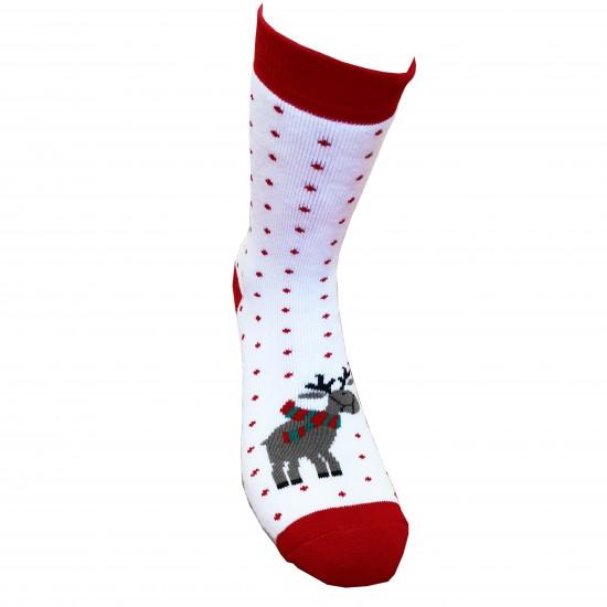 Kalėdinės pliušinės kojinės Elniukas