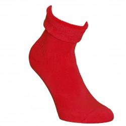 Šiltos pliušinės kojinės Raudona
