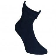Šiltos pliušinės kojinės Tamsiai mėlyna