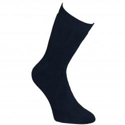 Šiltos pliušinės kojinės ilgesnės Tamsiai mėlyna