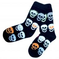 Juodos kojinės Kaukolės