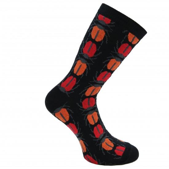 Kojinės raudoni Vabalai