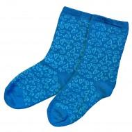 Mėlynos kojinės Širdelės