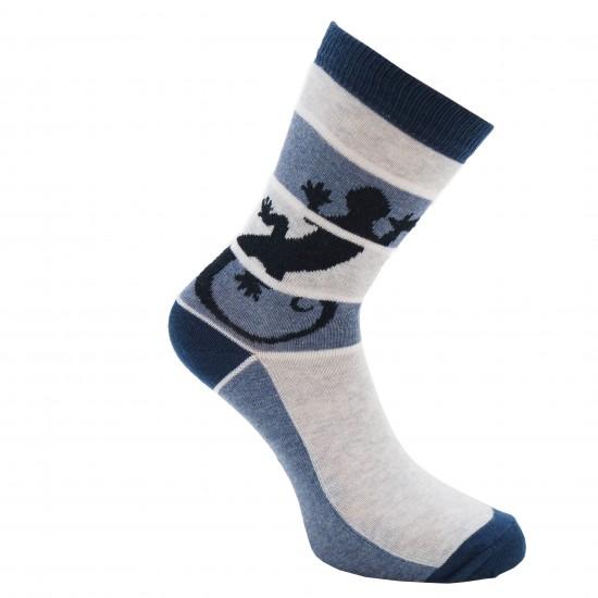 Mėlynos kojinės Driežas