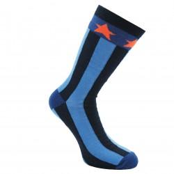 Mėlynos kojinės Juostos ir žvaigždės