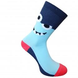 Mėlynos šviečiančios tamsoje kojinės  Pašėlusios