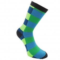 Mėlynos kojinės Ryškūs stačiakampiai