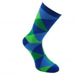 Mėlynos kojinės Ryškūs trikampiai