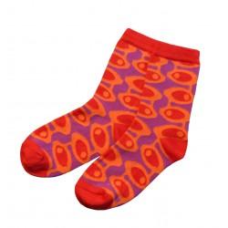 Spalvotos kojinės Burbulai (Raudona)
