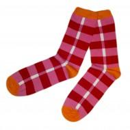 Spalvotos kojinės Žaismingos (Oranžinė)