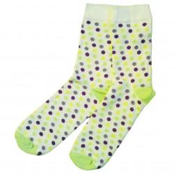 Žaismingos kojinės Spalvoti taškeliai