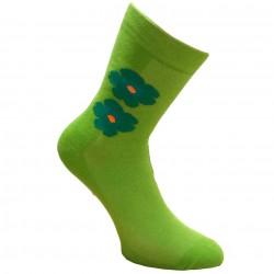 Žalios kojinės Gėlytė