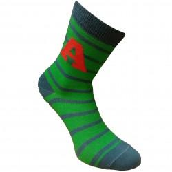 Žalios kojinės Raidė A
