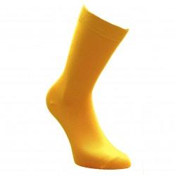 Geltonos vienspalvės kojinės Garstyčios