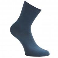 Mėlynos vienspalvės kojinės Blankiai mėlyna
