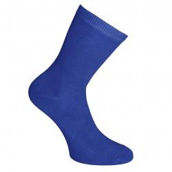 Mėlynos vienspalvės kojinės Rugiagėlė
