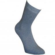 Mėlynos vienspalvės kojinės Šviesus džinsas