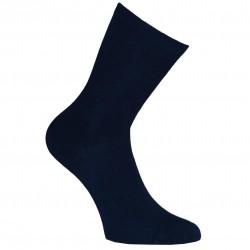 Mėlynos vienspalvės kojinės Tamsiai mėlyna