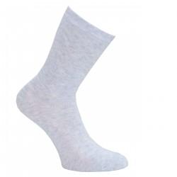 Pilkos vienspalvės kojinės Perlas
