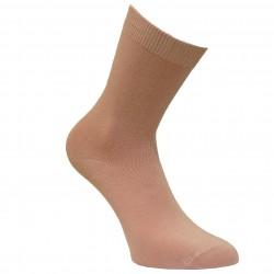 Rožinės vienspalvės kojinės Blankiai rožinė