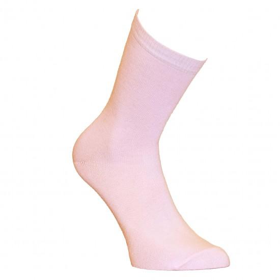 Rožinės vienspalvės kojinės Šviesiai rožinė
