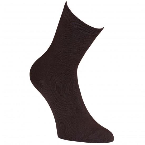 Rudos vienspalvės kojinės Šokoladas