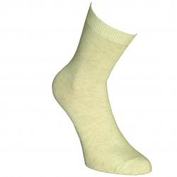 Smėlio vienspalvės kojinės