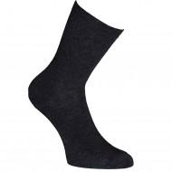 Tamsiai pilko melanžo vienspalvės kojinės Londra