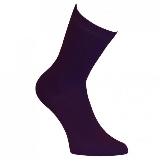 Violetinės vienspalvės kojinės Slyva