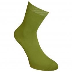 Žalios vienspalvės kojinės Samana