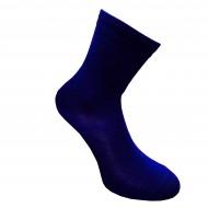 Šiltos plonos 50% Merino vilnos kojinės Tamsiai mėlyna (Rašalo)