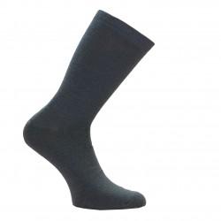 Šiltos plonos vilnonės kojinės Pilka grafitas