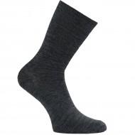 Šiltos plonos vilnonės kojinės Tamsiai pilka melanžas