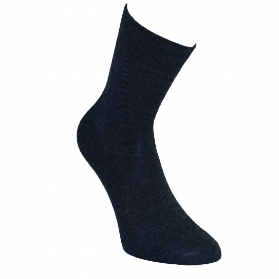 Gumuotais padais šiltos plonos vilnonės kojinės Londra
