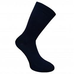 Labai švelnios Extra fine 85% merino vilnos kojinės Tamsiai mėlyna