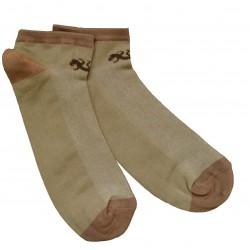 Trumpos sporto ir laisvalaikio kojinės šviesiai rudas Driežiukas