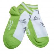 Trumpos sporto ir laisvalaikio kojinės žalia Sport