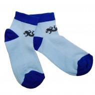 Trumpos sporto ir laisvalaikio kojinės mėlynas Driežiukas