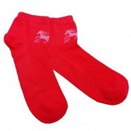 Trumpos sporto ir laisvalaikio kojinės raudonas Žirgas