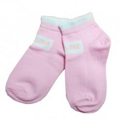 Trumpos sporto ir laisvalaikio kojinės šviesiai rožinė Jeans