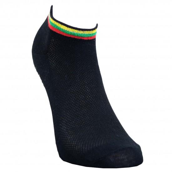 Trumpos sporto ir laisvalaikio kojinės juoda Vėliavėlė
