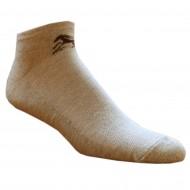 Trumpos sporto ir laisvalaikio kojinės smėlio melanžo Žirgas