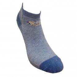 Trumpos sporto ir laisvalaikio kojinės šviesaus džinso Driežiukas