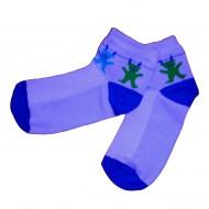 Trumpos sporto ir laisvalaikio kojinės mėlyni Meškučiai